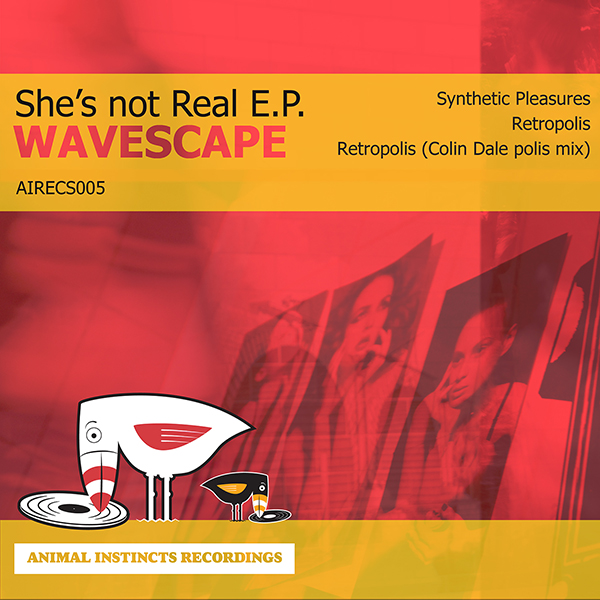 AIRECS005 Wavescape She's Not Real EP artwork
